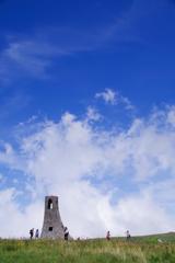 雲と同じ高さの場所
