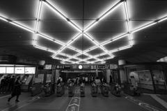 東急東横線・東京メトロ副都心線 渋谷駅 改札口
