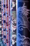 織り物のグラデーション