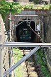 トンネルを抜ける
