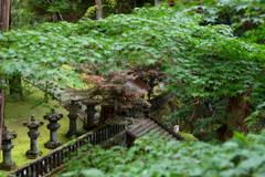 霊廟の入口