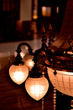 シャンデリアの灯り