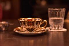 ひとりぼっちのお茶の時間。