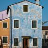 Una casa blu