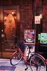 横丁の喫茶店