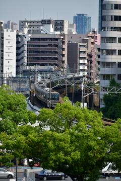 新大阪駅からの眺め