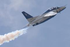 石巻川開き祭り ブルーインパルス飛行2