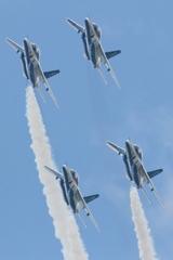 石巻川開き祭り ブルーインパルス飛行7