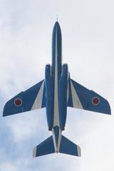石巻川開き祭り ブルーインパルス飛行4
