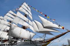 日本丸~総帆展帆1