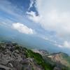 岩だらけの山頂