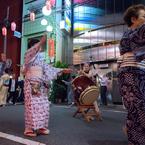 杉大門通り盆踊り 4