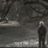 老人在川端