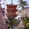 清水寺の三重塔。