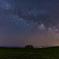 麦畑と天の川