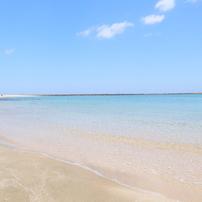 スッキリとした海②