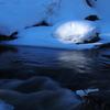 湯川の流れ・冬