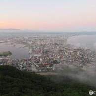 函館山から臨む函館全景