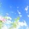 空と雲と秋桜