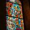 ちょっと現代的なステンドグラス マリア・ラーハ修道院教会