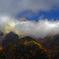 朝日に輝く穂高岳 DSC01246z