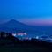 夜明けの富士-日本平茶畑から