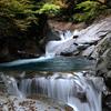 西沢渓谷と尾白川渓谷 魅惑の流れ