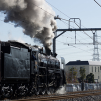 蒸気機関車 C61-20