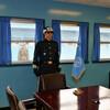 軍事境界線の通る部屋