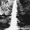 水墨画風写真~七代の滝~