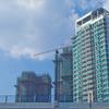 未来都市建設中