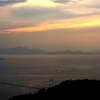 海道の夕景