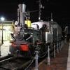 夜の停車場の坊ちゃん電車