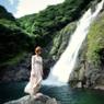 屋久島・大川(おおこ)の滝にて