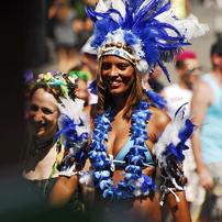 Street Parade in Zuerich