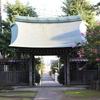 正福寺の山門(境内より望む)