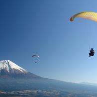 富士に向かって、飛ぶ! S