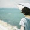 海と風と日傘