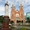 サイゴン教会マリア像