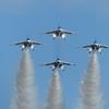T-4ブルーインパルス 編隊飛行