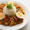 ◆植田食堂096 豆腐ドライカレー