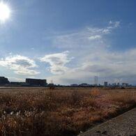 多摩川敷(上流方向)