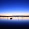 印旛沼・朝景 - 蒼の枯淡 -