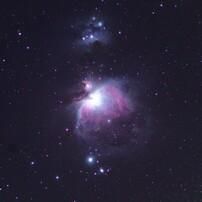 オリオン大星雲 M42(コンポジット最適化板)