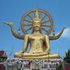タイ・サムイ島 仏像