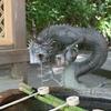 手洗い場の龍
