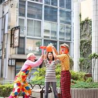 路上演劇祭Japan in 浜松2013 道化集団 雨ニモ負ケズ