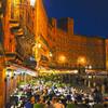 カンポ広場の夜