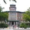 神奈川県庁舎デジタル掛け軸ライトアップ