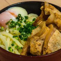 東京ひとりめし:スタミナ豚生姜焼きうどん